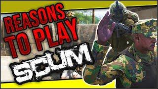 Reasons To Play Scum! 5 MAN SQUAD WIPE! [PC] #Scum #Survival #openworld