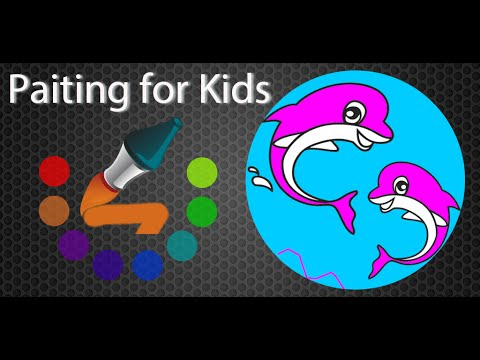 Video of Painting and Coloring for Kids