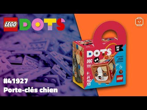 Vidéo LEGO Dots 41927 : Porte-clés chien