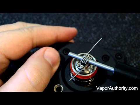 Smok TFv4 mini - RBA Clapton Coil Build Tutorial