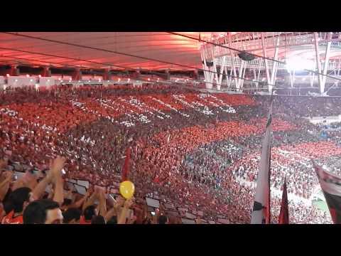 Conte comigo Mengão acima de tudo Rubro Negro - Torcida do Flamengo no Maracanã