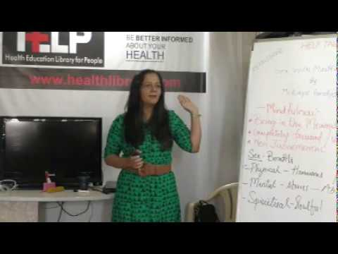 Sex with Mindfulness By Mrs. Kinjal Pandya on  Health HELP Talks