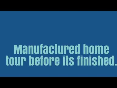 Rare video of Manufactured homes during construction. Not a tiny house. Senior Community