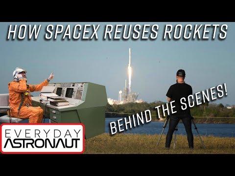 Před dvěma lety začala éra znovupoužitelných raket
