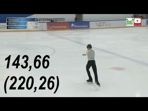 Andrey KUTOVOY - FP Overview (Rus Jr Nats 2019)
