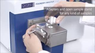 High performance metals analyser on your desktop FOUNDRY MASTER Smart Optimum