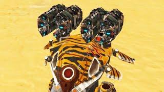 War Robots [3.8] Test Server - NEW Weapon Exodus Gameplay