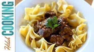 How to Make Beer Beef Stew | Hilah Cooking