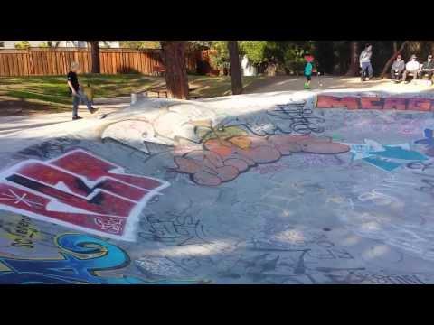Tour of Derby Skatepark in Santa Cruz,  CA