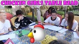 Chicken Girls Table Read 🐔 (WK 352) | Bratayley