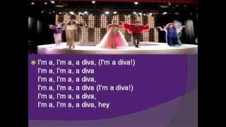 Glee Diva lyrics