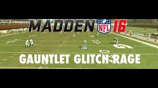 GAUNTLET GLITCH CAUSES RAGE! - Madden 16 Gauntlet Gameplay