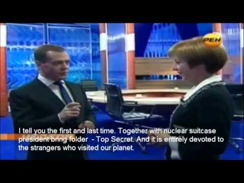 Dmitry Medvedev talks about aliens on Earth! (English Subs)
