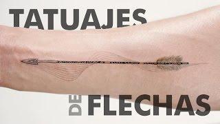 Pequeños Tatuajes De Flechas