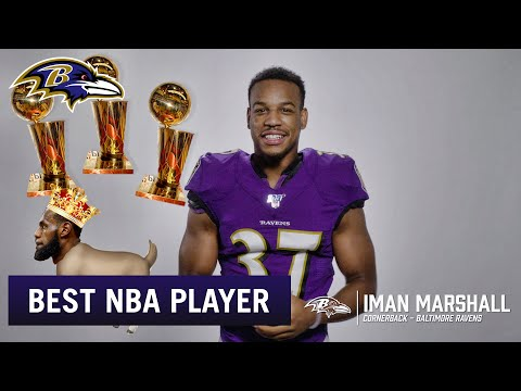 Who is the Best Player in the NBA? | Baltimore Ravens Players Answer