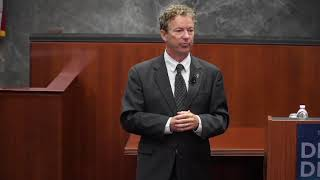 Rand Paul on Giving Up Liberty for Security | Fourth Amendment