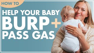 First Time Mom Newborn Tips: HOW TO BURP A NEWBORN BABY + RELIEVING GAS IN INFANTS