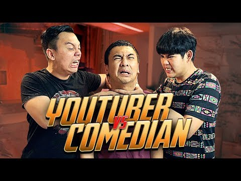 Q a youtuber vs comedian w  raditya dika