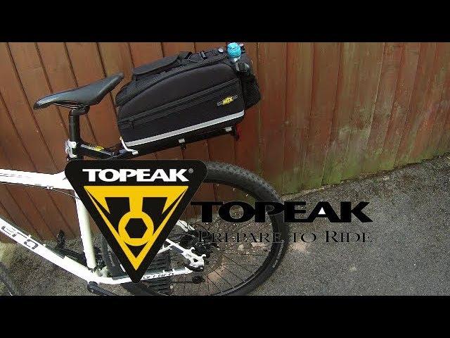 Видео Багажник задний Topeak RX BeamRack V-type серый