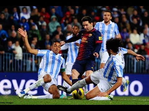 Lionel Messi Dribbling Skills In Slow Motion