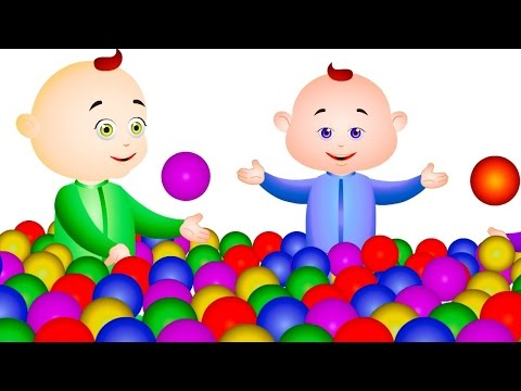 Five Little Babies Playing With Balls & Many More Rhymes - JamJammies Nursery rhymes & kids Song