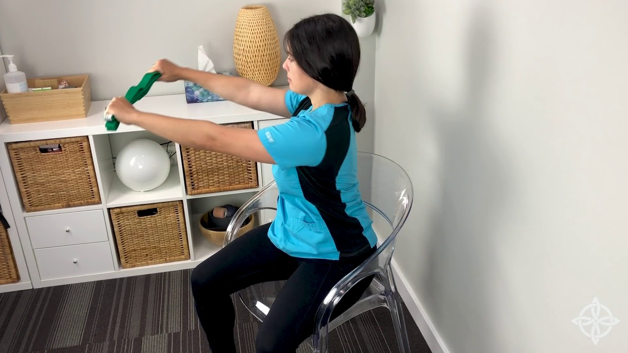 Photo of Seated Torso Twist