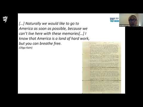First Letters after Liberation - Dr. Iael Nidam Orvieto