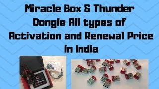 miracle thunder dongle unboxing !! how to activate miracle