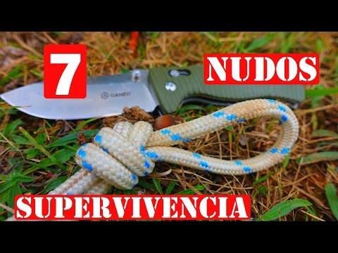 TOP 7 Nudos para Supervivencia o Montaña