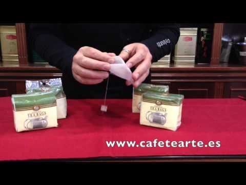 Filtros de papel para hacer té