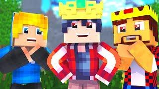 Я СТАЛ НОВЫМ КОРОЛЕМ МАЙНКРАФТА! БИТВА ЗАМКОВ В МАЙНКРАФТ / Троллинг Мини-Игры Minecraft для детей