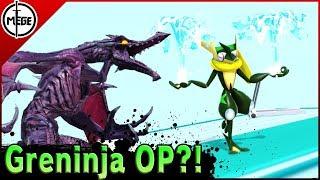 GRENINJA OP?! - Ridley VS Greninja - High Level Gameplay