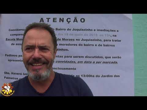 Mario Luiz Martinis do Juquiazinho convida todos Moradores a Comparecerem a Reunião na Escola do Juquiazinho as 15 Horas
