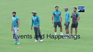 Pakistan cricket team practice in preparation for the upcoming series against Sri Lanka, in Lahore