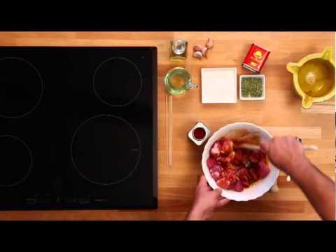 RECIPE LA CHINATA   MEAT MARINADE WITH SMOKED PAPRIKA POWDER LA CHINATA   - YouTube.flv