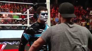 Стивен Амелл скандал(драка)на WWE