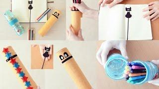 Gambar cover El yapımı okul eşyaları | Okul için uygun fiyatlı DIY fikirleri!