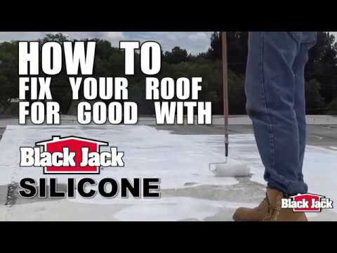 Black Jack® Eterna-Kote® Silicone Roof Coating – Black Jack