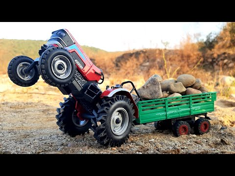 Unboxing of Mahindra Arjun Novo Diecast Tractor   Mahindra Tractor   Model Tractor   Auto Legends  