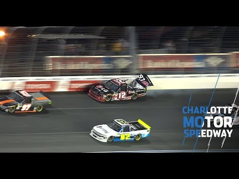 Multi-truck crash hits in final stage at Charlotte