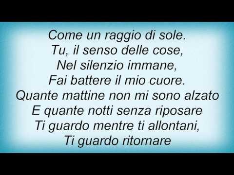 19929 Raf - Il Senso Delle Cose Lyrics