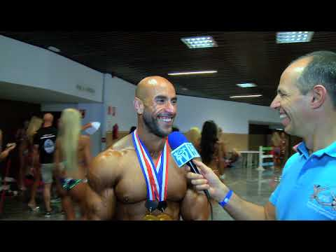 Interview Adil Barini. Overall of Classic Bodybuilding Olympia Spain 2015
