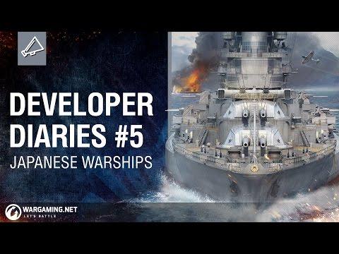 Developer Diaries #5 Japanese Warships