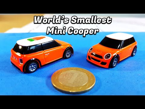 An Extremely Tiny RC Car by Turbo Racing you can Actually Drive (76 Times Smaller Than Real Life)