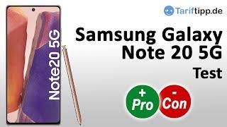 Samsung Galaxy Note 20 5G | Test