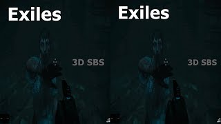 3D VR horror video Exiles  3D TV VR box Google Cardboard