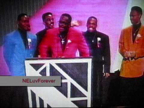 New Edition (All Six) Are Presenters at the 1994 AMAs