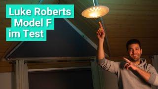 Die Luke Roberts Model F im Test - Das kann die smarte Lampe für 700€!