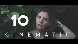 Simple techniques for filmmakers