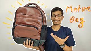 Unboxing Mature Bag 💼   Leather Bag